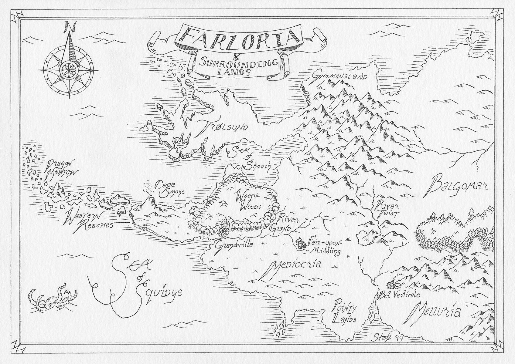 Map of Farloria