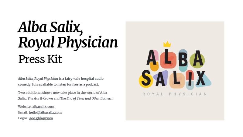 Alba Salix, All Shows Press Kit