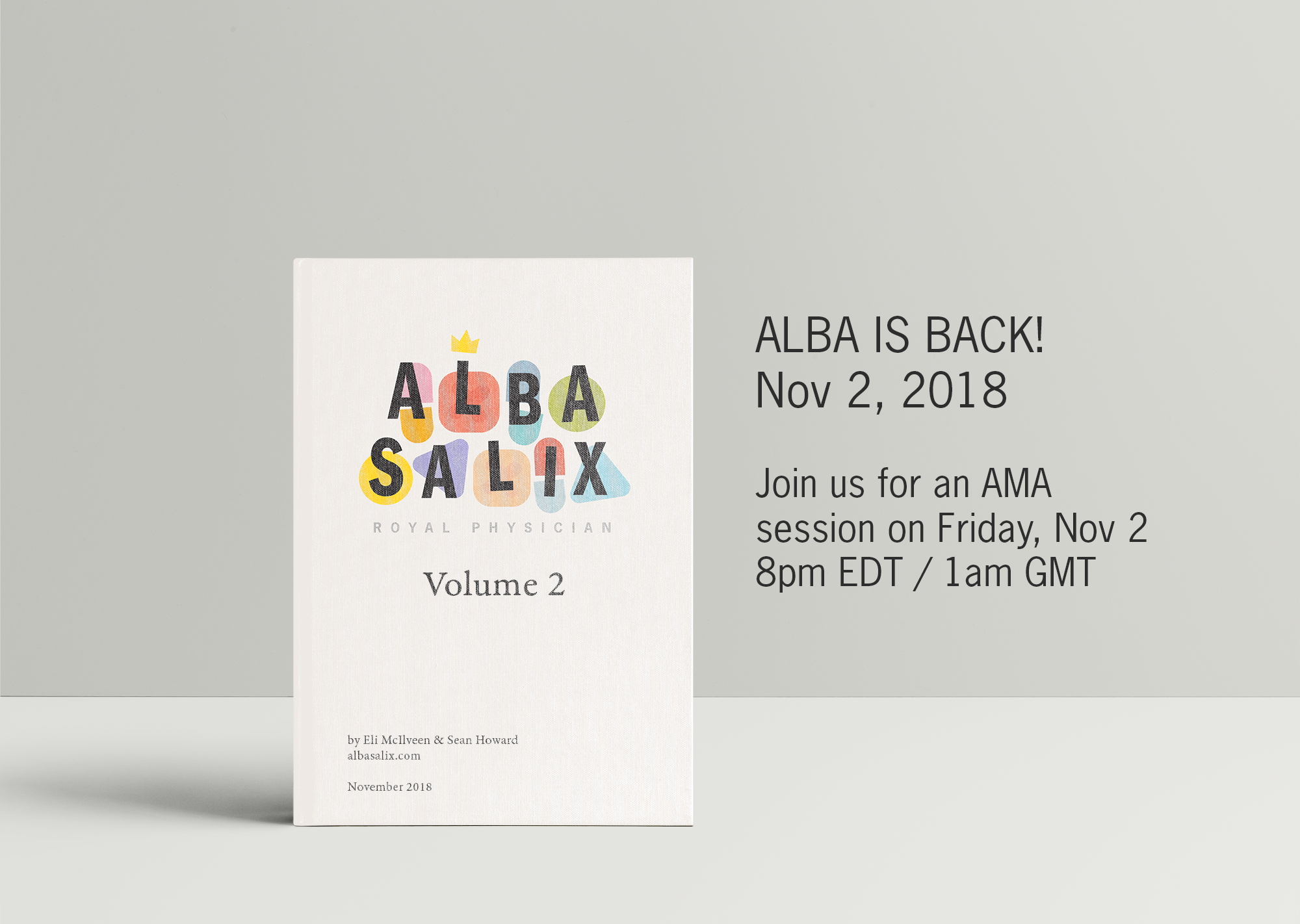 Alba is back! Joins us 8pm EDT for a live AMA