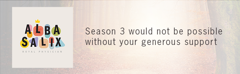 Header: Season 3 would not be possible without your generous support.